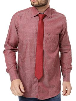 Camisa-Manga-Longa-Masculina-Vinho
