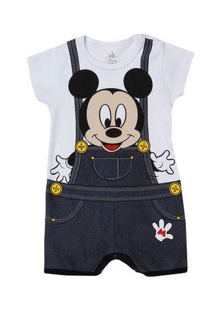 Macacao-Infantil-Para-Bebe-Menino-Disney---Branco-cinza