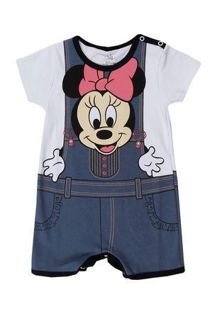 Macacao-Infantil-Para-Bebe-Menina-Disney---Branco-cinza