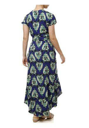 Vestido-Feminino-Autentique-Verde-azul-marinho-