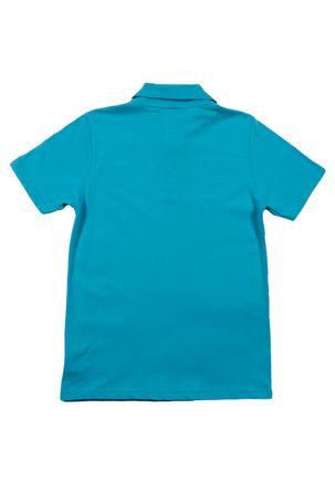 Polo-Manga-Curta-Juvenil-Para-Menino---Azul