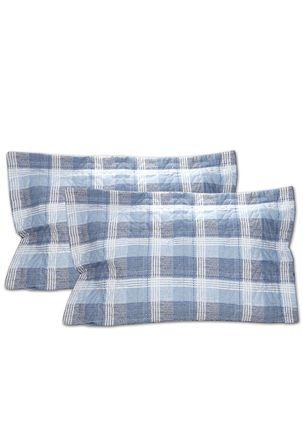 Kit-de-Colcha-Casal-com-Porta-Travesseiro-Santista-Azul