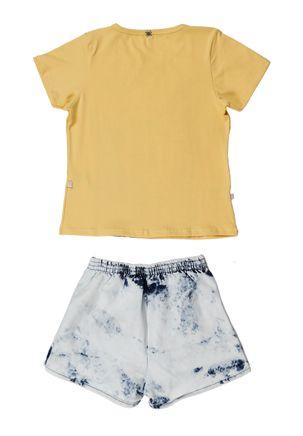 Conjunto-Infantil-Para-Menina---Amarelo