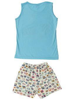 Pijama-Juvenil-Para-Menina---Azul-amarelo