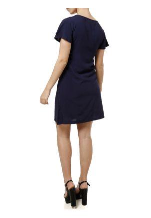 Vestido-Curto-Feminino-Azul-marinho