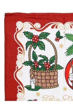 Pano-de-Copa-Natalino-Dohler-Bege-vermelho