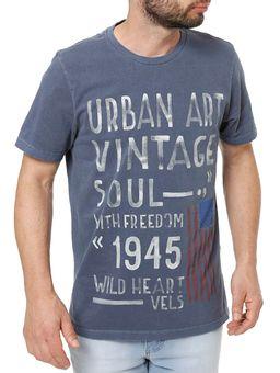 Camiseta-Manga-Curta-Masculina-Vels-Azul-marinho