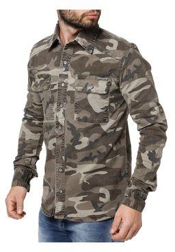 Camisa-Manga-Longa-Masculina-Camuflada-Verde