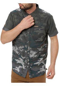Camisa-Manga-Curta-Camuflada-Masculina-Gangster-Verde