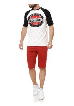Bermuda-Sarja-Masculina-Rock-e-Soda-Vermelho