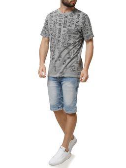 Camiseta-Manga-Curta-Masculina-Vels-Cinza