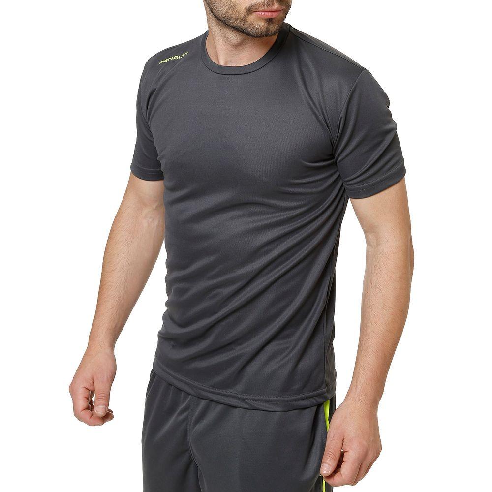 Camiseta Esportiva Masculina Penalty Cinza - Lojas Pompeia f0664a5dfeed6