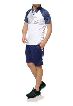 Polo-Esportiva-Manga-Curta-Masculina-Local-Branco-azul-