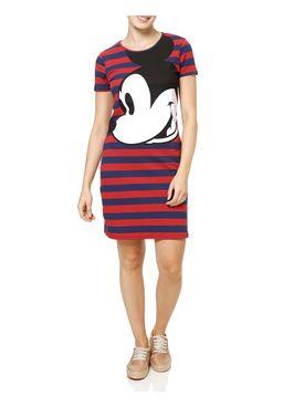 Vestido-Curto-Feminino-Disney-Vinho
