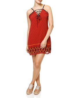 Vestido-Curto-Feminino-Vermelho