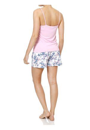Pijama-Curto-Feminino-Off-white-rosa