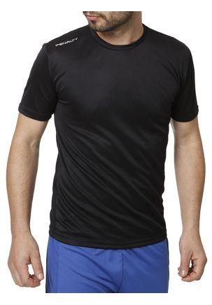 Camiseta-Esportiva-Masculina-Penalty-Preto