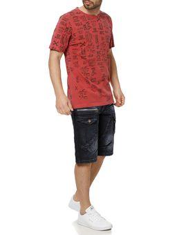 Camiseta-Manga-Curta-Masculina-Vels-Vermelho