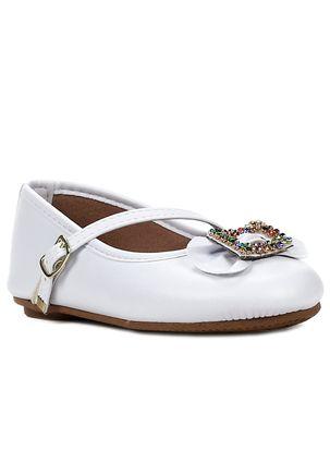 Sapato-Para-Bebe-Menina---Branco