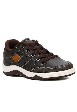 Sapato-Kid---Infantil-Para-Menino---Marrom-bege