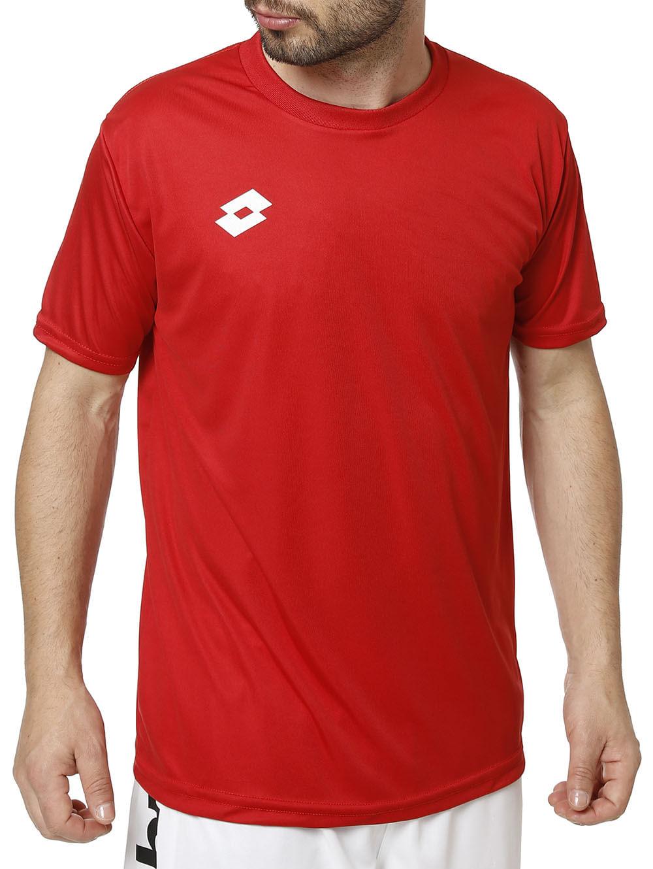 8763ae5a2 Camiseta Esportiva Masculina Vermelho - Lojas Pompeia