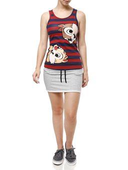 Blusa-Regata-Feminina-Disney-Vermelho-azul-marinho