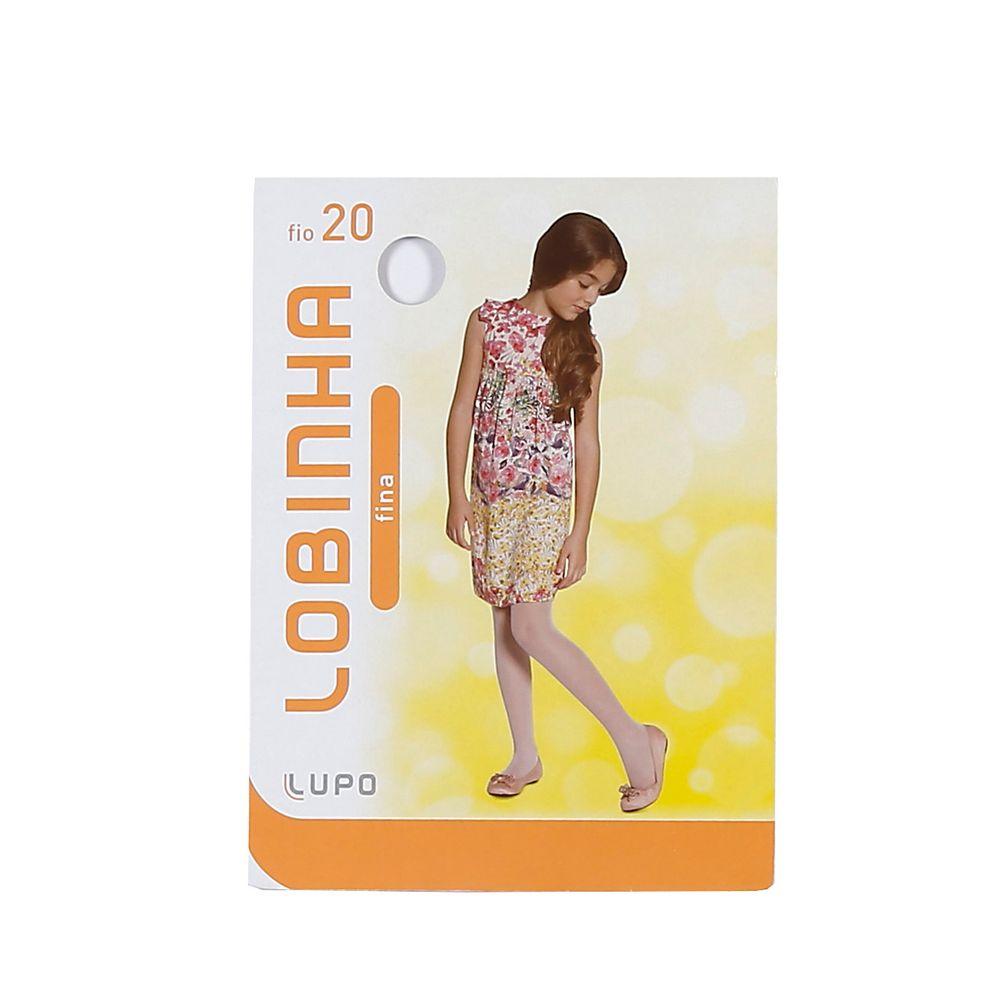 Meia-Calça Lupo Infantil Para Menina - Branco - Lojas Pompeia 8d620f603b