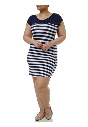 Vestido-Curto-Plus-Size-Feminino-Azul-marinho