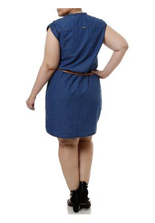 Vestido-Jeans-Plus-Size-Feminino-Azul