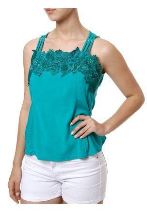 Blusa-Regata-Feminina-Verde