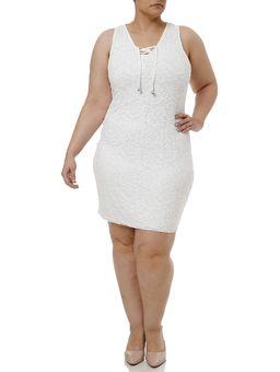 Vestido-Curto-Plus-Size-Feminino-Off-white