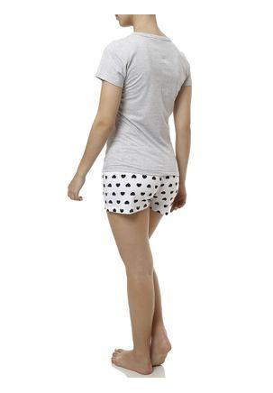 Pijama-Curto-Feminino-Cinza-branco