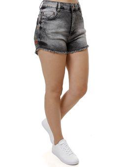 Short-Jeans-Feminino-Bivik-Preto-