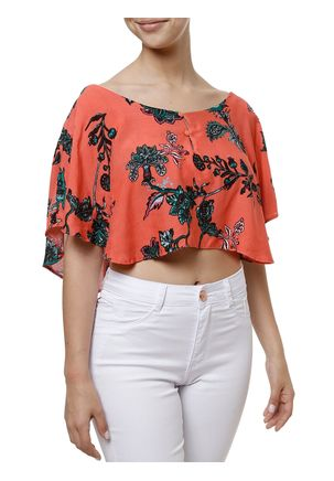 Top-Cropped-Feminino-Coral