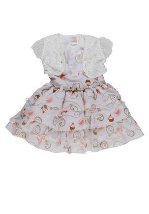 Vestido-Infantil-Para-Bebe-Menina---Bege