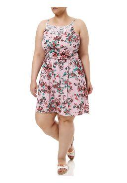 Vestido-Curto-Plus-Size-Feminino-Rosa
