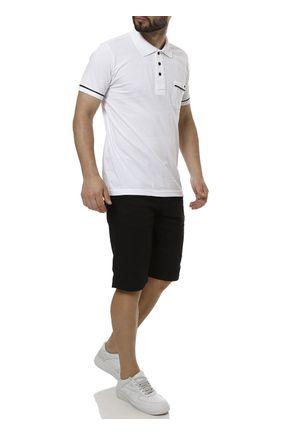 Polo-Manga-Curta-Masculina-Branco