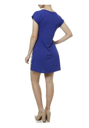 Vestido-Curto-Feminino-Azul-