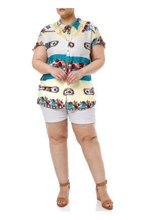 Short-Sarja-Plus-Size-Feminino-Branco