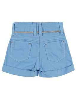 Short-Infantil-Para-Menina---Azul