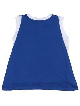 Camiseta-Regata-Batman-Infantil-Para-Menino---Branco-cinza