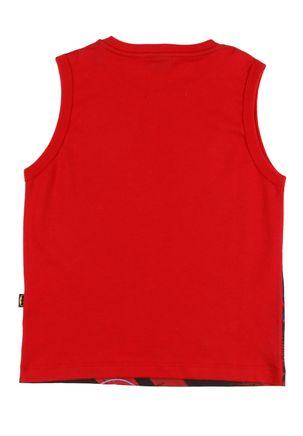 Camiseta-Regata-Batman-Infantil-Para-Menino---Vermelho