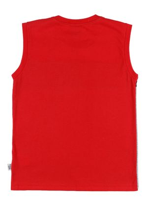 Camiseta-Regata-Juvenil-para-Menino---Vermelho-cinza