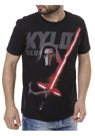 Camiseta-Manga-Curta-Masculina-Star-Wars-Preto