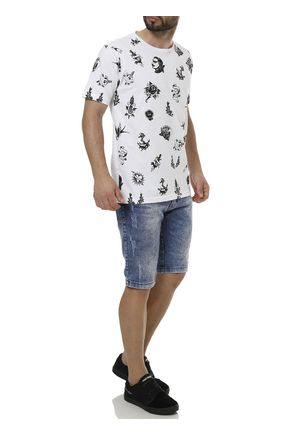 Camiseta-Manga-Curta-Masculina-Local-Branco