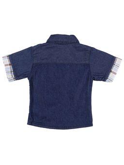 Camisa-Infantil-Para-Bebe-Menino---Azul