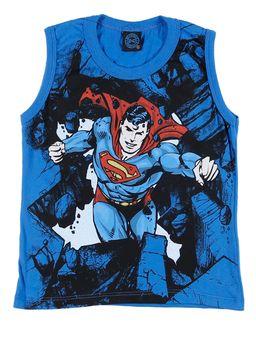 Camiseta-Regata-Infantil-Para-Menino-Justice-League-Azul