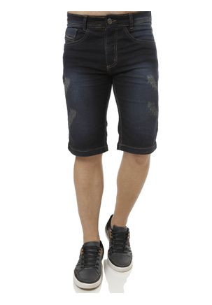 Bermuda-Jeans-Moletom-Masculina-Eletron-Azul