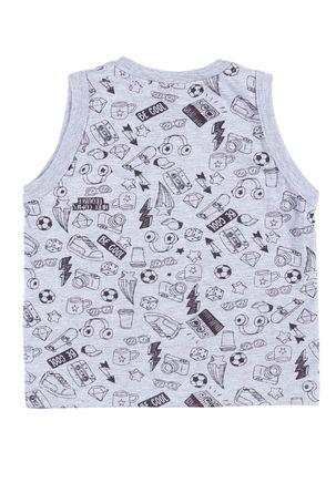Camiseta-Regata-Juvenill-Para-Menino---Cinza