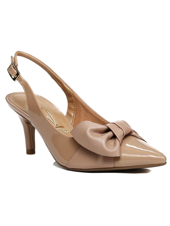 0e6889a48e Sapato Chanel Feminino Vizzano Nude - Lojas Pompeia